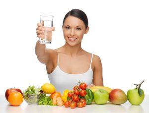 Распишите диету для похудения